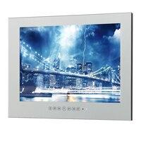22-дюймовый Бесплатная доставка HDMI IP66 волшебное зеркало ТВ выполненные исчезающего отель Водонепроницаемый ТВ