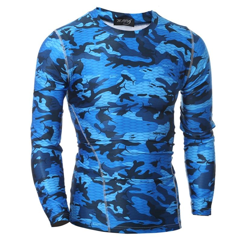 2 색 남성 캐주얼 티셔츠 긴 소매 빠른 건조 체육관 의류 보디 빌딩 탑 티 셔츠 새로운 T 셔츠 MQ444