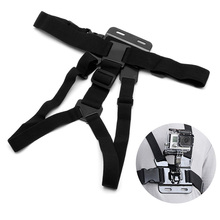 High Quality Adjustable Body Camera Strap Belt Chest Mount Harness For GoPro Hero 4 3+3 2 1 все цены