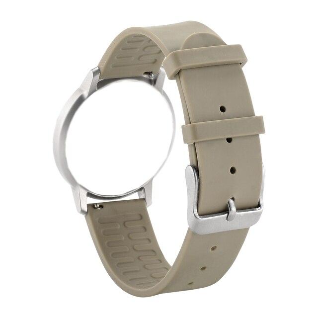 Bemorcabo часы ремешок для Withings Activite/сталь/поп, 18 мм ширина быстрый выпуск часы Замена для huawei часы, мягкий ремешок TPE