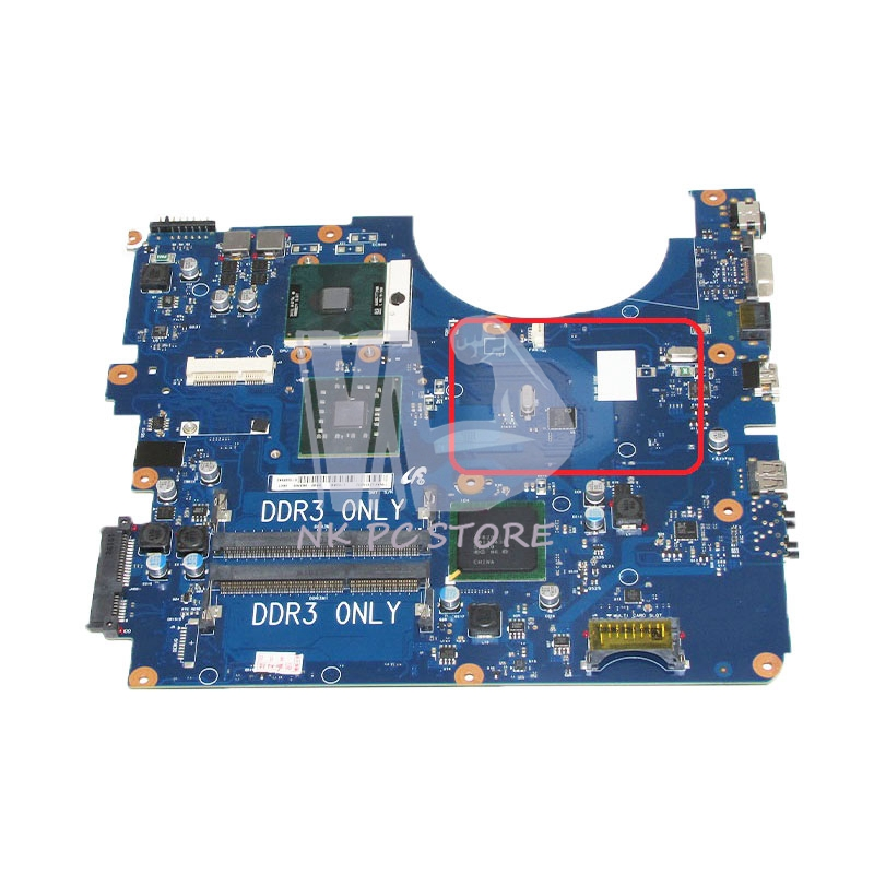 NOKOTION BA92-06336A BA92-06336B Main Board For Samsung NP-R530 R530 Laptop motherboard DDR3 GL40 Free CPU motherboard for samsung r530 r528 main board ba92 06346a ba92 06346b ba41 01227a pm45 ddr3 free cpu gt310m gpu