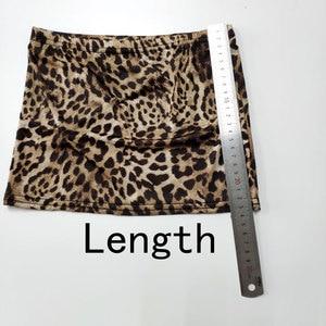 Image 5 - セクシーな女性の氷の絹のヒョウマイクロミニスカートタイトなペンシルスカート薄手の透明スカートナイトクラブスカートファンタジーエロ着用