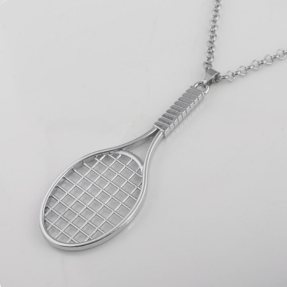 2018 new tennis racket necklace hip hop chain necklace women and men 2018 new tennis racket necklace hip hop chain necklace women and men casual sporty jewelry in pendant necklaces from jewelry accessories on mozeypictures Image collections