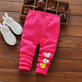 Nova outono Outono bebê meninas leggings inverno crianças outerwear calças grossas lazer crianças de veludo quente legging da menina do natal