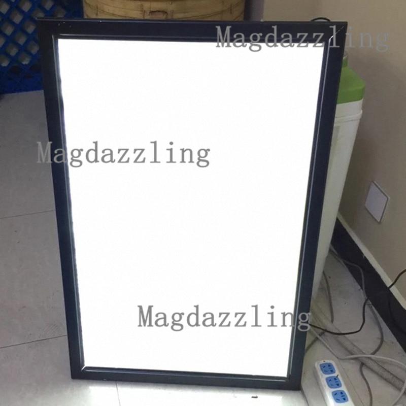 24 x 36 Aluminum LED Movie Poster Frame Light Box for Wall, Snap ...