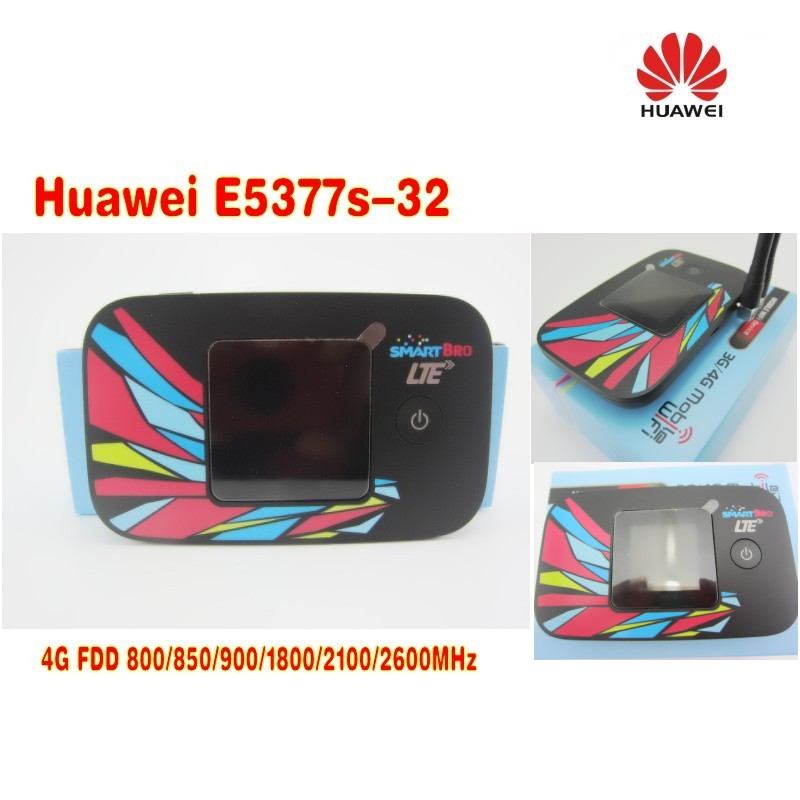 Unlocked Huawei E5377 G WIFI Wireless Router 150Mbps LTE Router PK E589