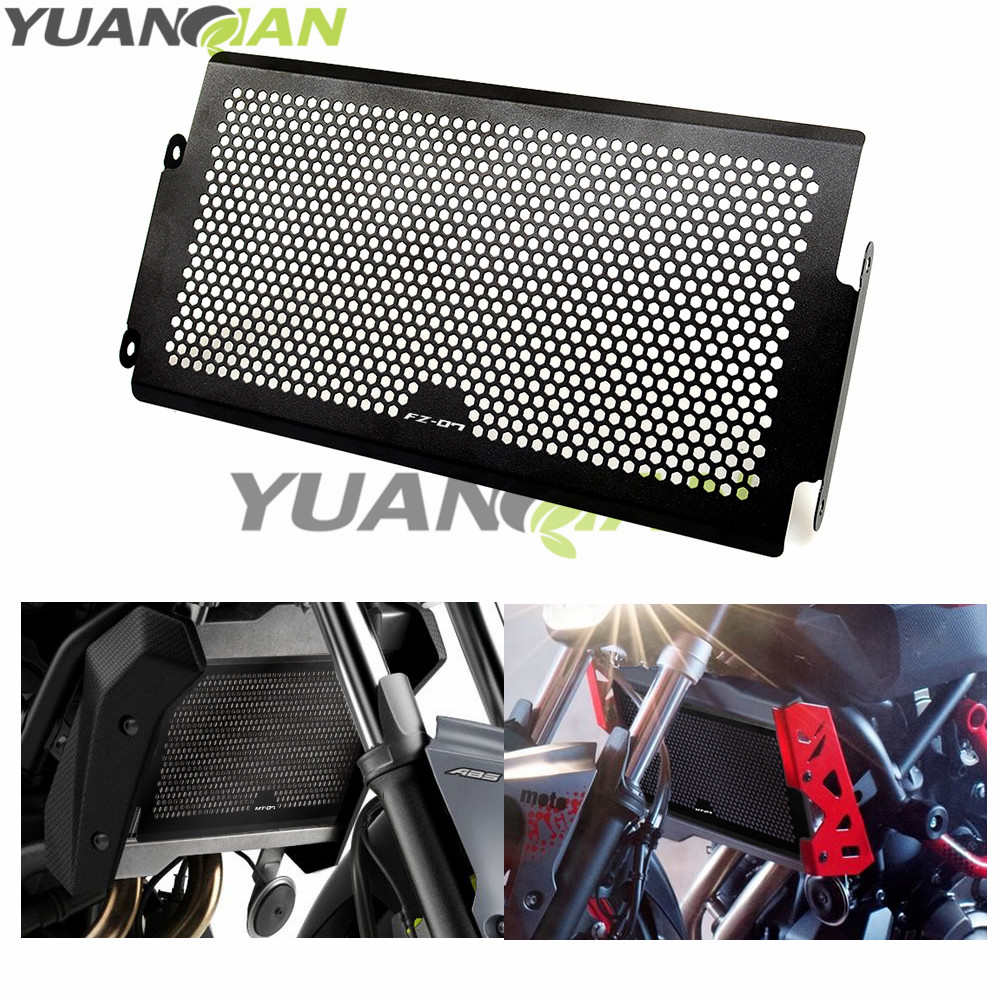 For Yamaha FZ-07 FZ07 FZ 07 2014-2016 MT 07 XSR700 2016 Radiator Grille Guards Motorcycle Radiator Protective Cover Grill Guard waase radiator protective cover grill guard grille protector for yamaha mt 07 mt07 fz 07 fz07 2013 2014 2015 2016