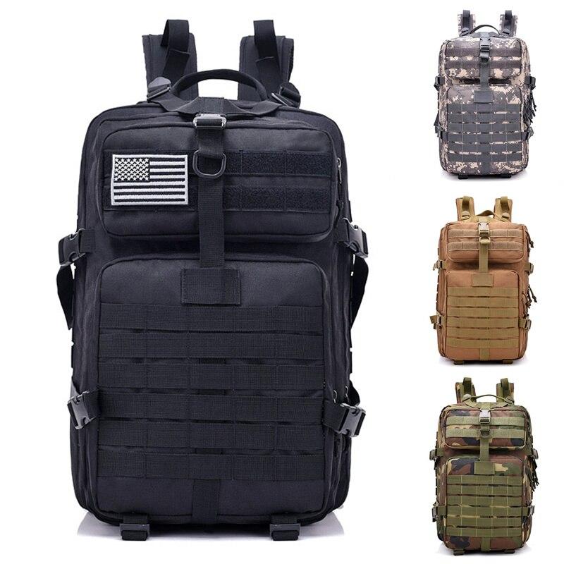 40L sac à dos tactique armée petit 3 jours assaut Pack Molle Bug Out sac sacs à dos sacs à dos