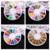 Envío gratis precio bajo de la alta calidad 20 unids/set práctico 3D Uñas de Acrílico multicolor Brillo para la decoración del arte
