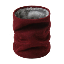 2019 new winter scarf for women neck rings men's Mask knitted cashmere-like soft thick warm scarves high elasticity