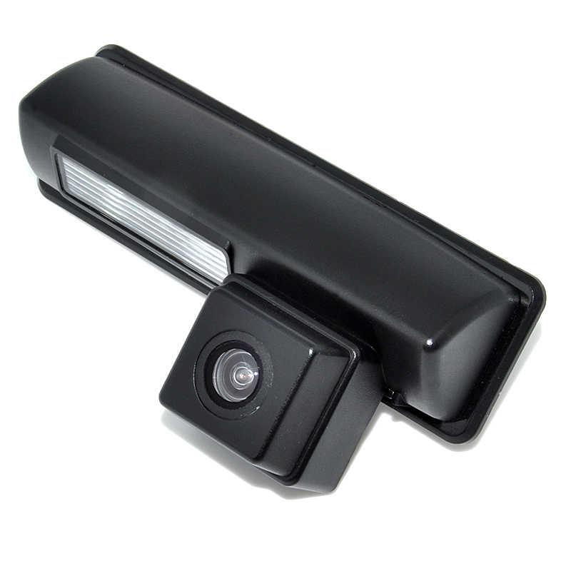 Cámara CCD a color/HD compatible con Toyota camry 2007 y 2012 vista trasera de coche Cámara cámara de respaldo de marcha atrás ayuda de estacionamiento