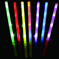 50pcs/lot party decoration 48cm Led Plastic Stick Flashing Glow Sticks neon sticks For Wedding Party Wholesale party supplies