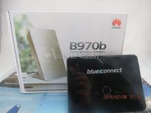 ¡ Caliente! el envío libre abrió huawei b970b original 3g router inalámbrico desbloqueado hsdpa wifi router