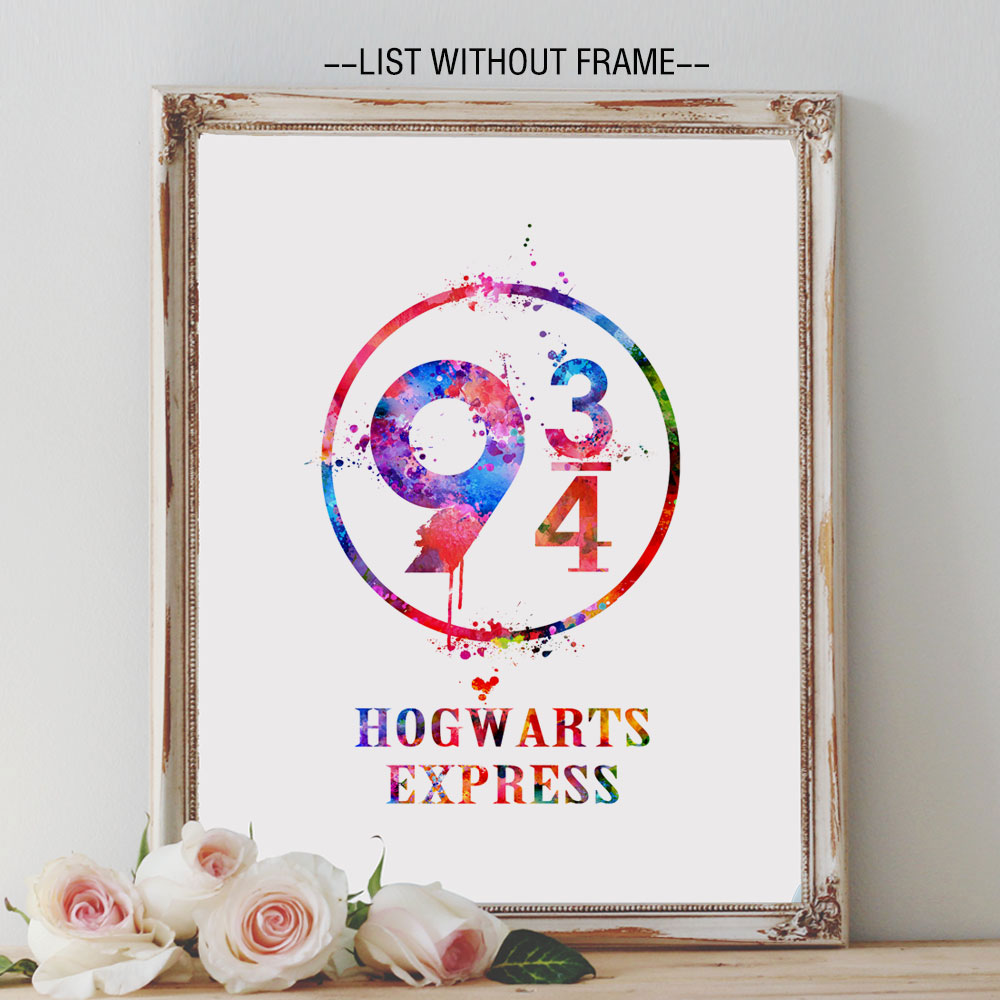 Simple Wallpaper Harry Potter Watercolor - Harry-Potter-Platform-9-3-4-Watercolor-Nursery-Art-Print-Hogwarts-Express-Wall-Hanging-Inspiration-Harry  2018_607051.jpg