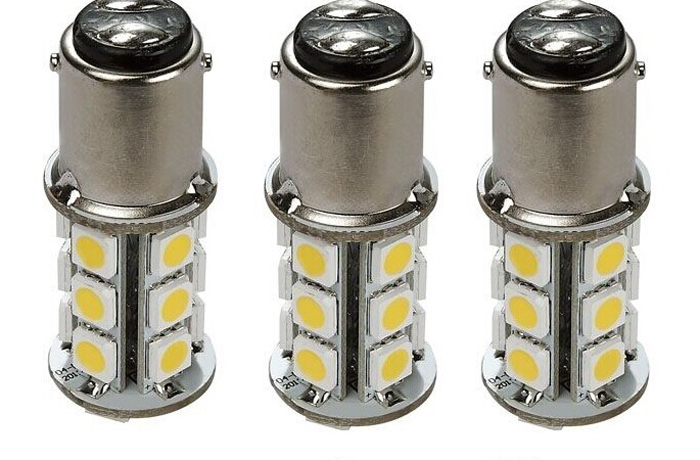 2 Pcs RV & Auto LED Bulb 1076 Base Tower 200 LUM 8-30v 12 Or 24v Free Shipping