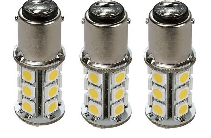 2 pcs RV & Auto LED Bulb 1076 Base Tower 200 LUM 8-30v 12 or 24v Free shipping