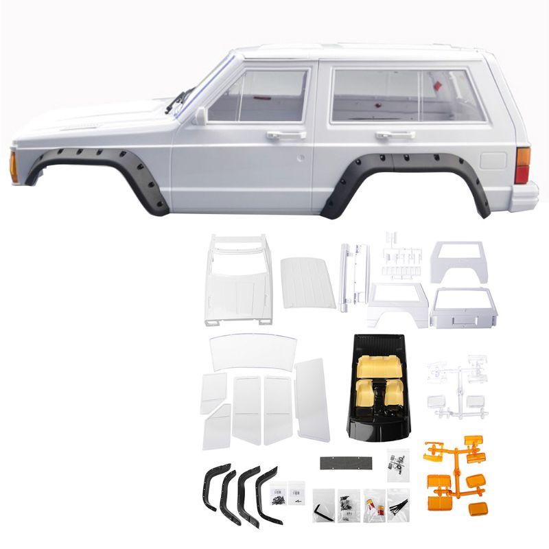 Empattement en plastique dur Cherokee carrosserie voiture Shell 1/10 RC chenille axiale SCX10 & SCX10 II 90046 90047 pour Kit TRX4