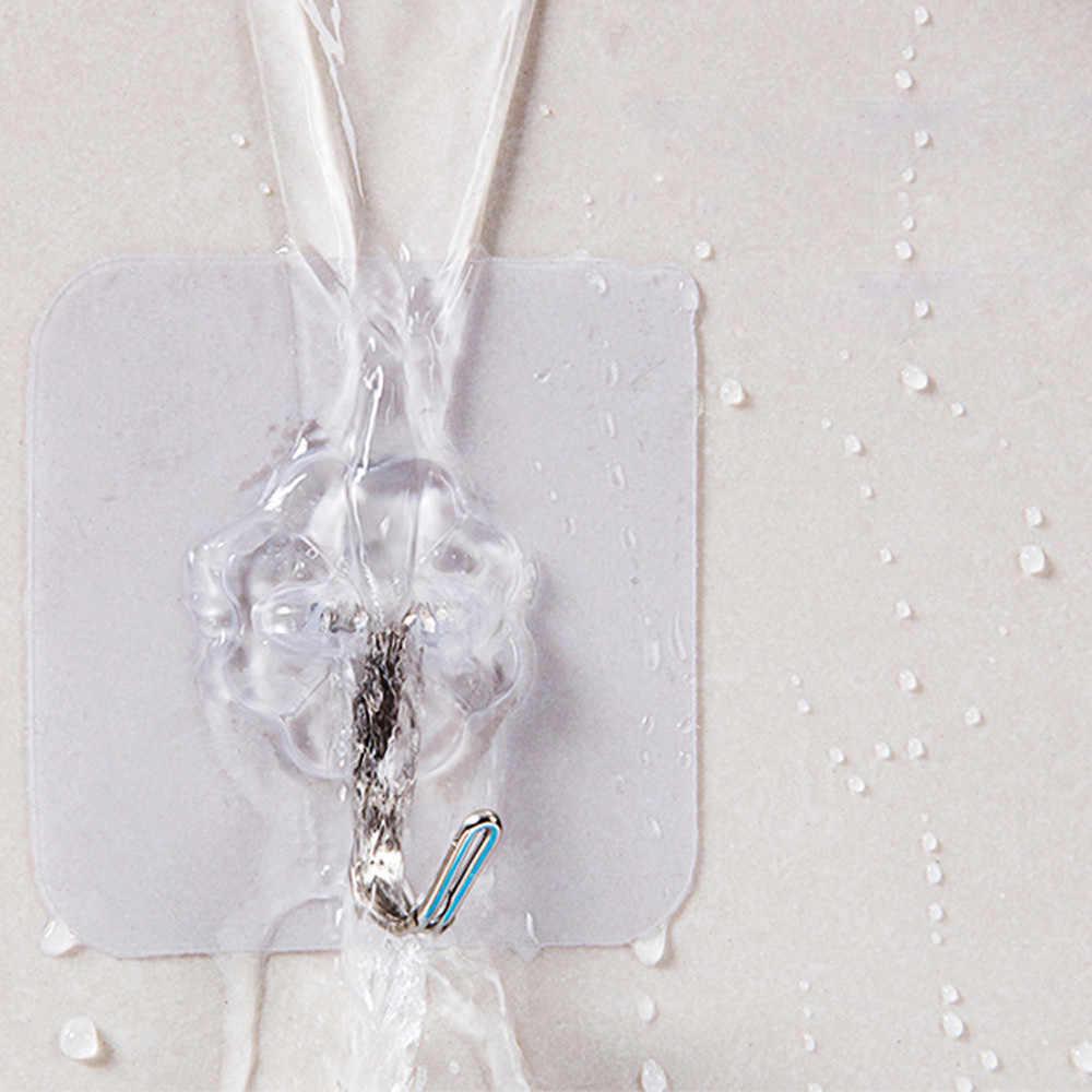 1/2 強力な透明吸盤吸盤ウォールフックハンガー用ホット販売壁フッククローシェ