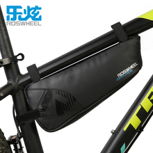 ФОТО roswheel bike bag 1.1l full waterproof bicycle upper tube front frame bag cycling triangle saddle bag bicycle accessories