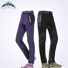 New Outdoor Women Men Clothing Pants Sports Soggy Air Drying Mountaineering Pantsuit Men's And Women's Stretch Pantsuits
