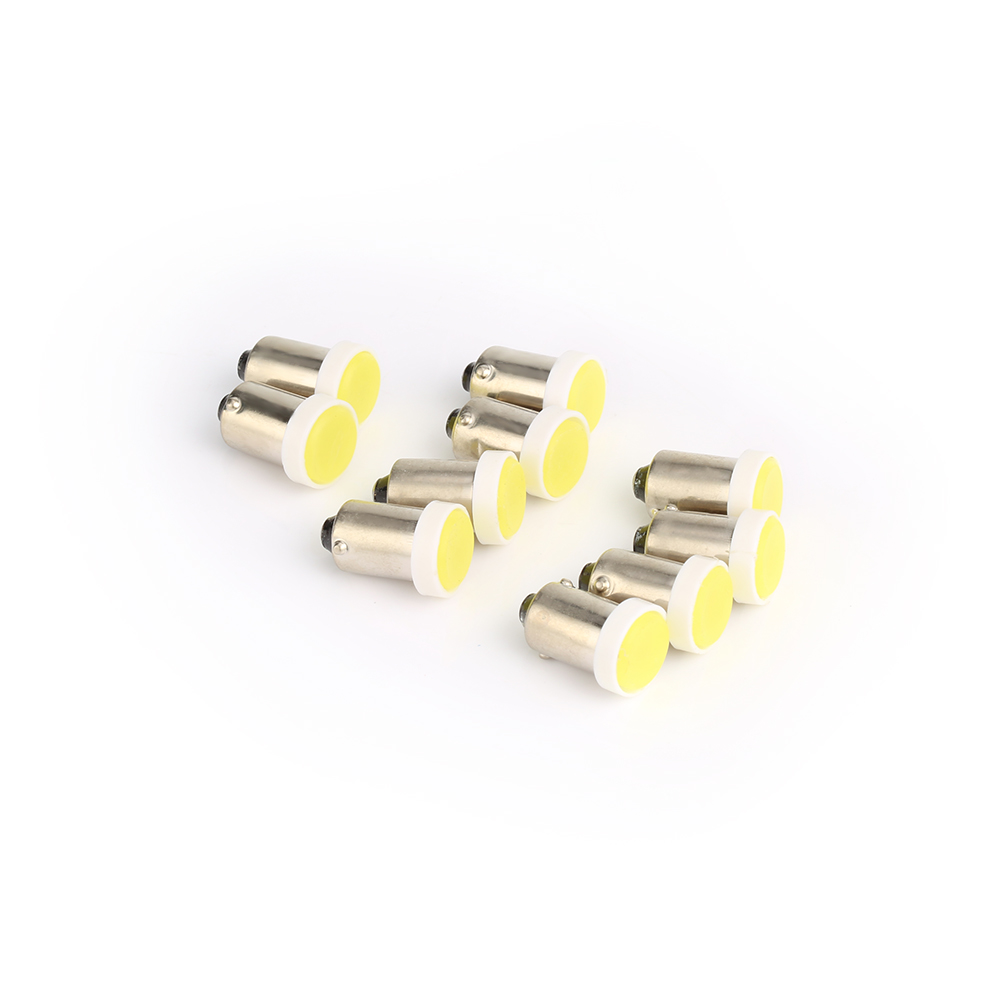 10Pcs T4W BA9S COB 6SMD Car <font><b>LED</b></font> Lights Bulb Kit Daytime Running FogLight White 12V <font><b>Interior</b></font> Lamp Auto For <font><b>BMW</b></font> <font><b>E60</b></font> E90 image