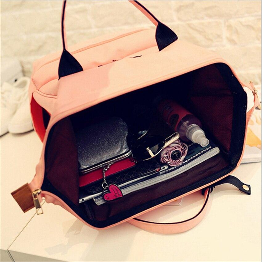 adolescentes meninas mochila de viagem Material : Top Quality Denim, Canvas