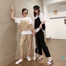 купить Plus Size Tracksuit Women Two Piece Set Outfits Top and Pants Matching Sets Sling Top and T-shirt and Pants 3 Piece Set Women дешево