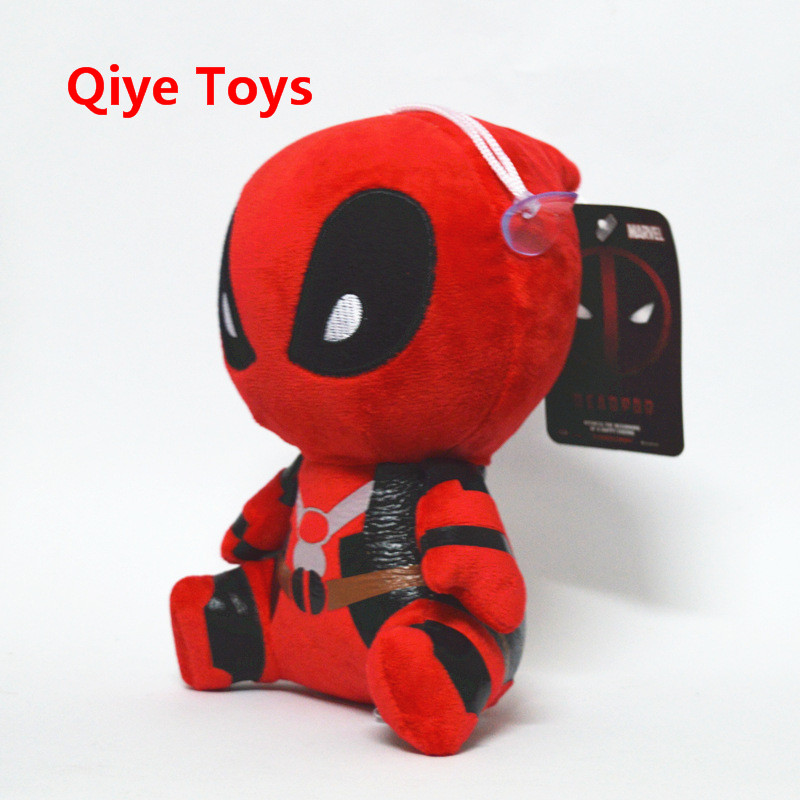 20cm Moive Deadpool Plush Toys Super Heros Soft Stuffed Dolls Plush With Pendant Sucker Baby Gifts