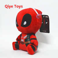 20cm Moive Deadpool Plush Toys Super Heros Soft Stuffed Dolls plush with pendant sucker Baby Gifts