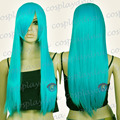 TLD046 28 inch Hi_Temp Series Miku Green Long Cosplay DNA Wigs