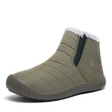 Man Casual Sheos Hot Sale Winter Cotton Shoes Fashion Comfortable Keep Warm Snow Boots Unisex Plus Size Walking Shoes 46 47 48