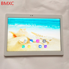 Newest BMXC tablet pc 10.1 inch 1920*1200 IPS screen 4G LTE Android 6.0 8 core 2GB RAM 16GB/32GB ROM 5MP tablets 10 10.1 + Gifts