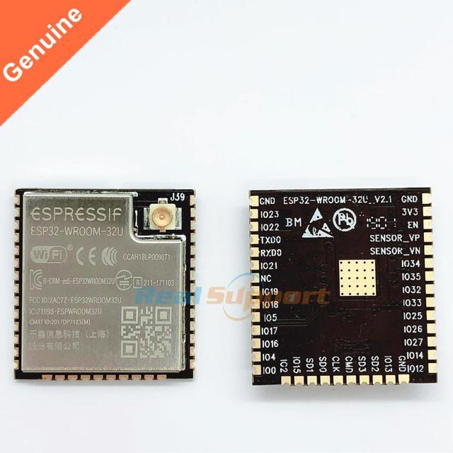 10 шт., флэш память 32 Мб, стандарт Wi Fi + BT + BLE ESP32