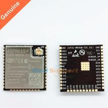 10 pcs ESP32 WROOM 32U wi fi + bt + ble esp32 모듈 ipex 안테나 커넥터 32 mbits 4 mb 플래시 메모리 espressif original