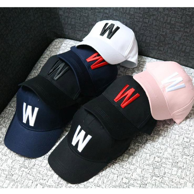 2017 Children Baseball Cap W Letters Solid Autumn kids Sun Hat Boys Girls snapback Caps age for 2-9 years old child 2017 children hip hop baseball cap summer sequin m letters kids sun hat boys girls snapback mesh caps for 2 8 years old