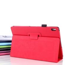 """Caso de la cubierta de cuero para Lenovo ideaTab a10-70 A7600 caja protectora para el lenovo A7600 A10 10.1 """"caja de la tableta + pantalla stylus pen"""