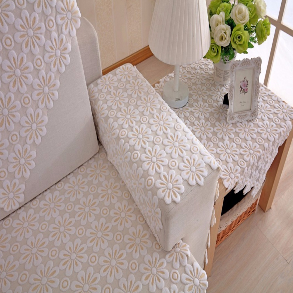 Admirable Lace Sofa Towel White Couch Cover Morden Style Growth Gamerscity Chair Design For Home Gamerscityorg