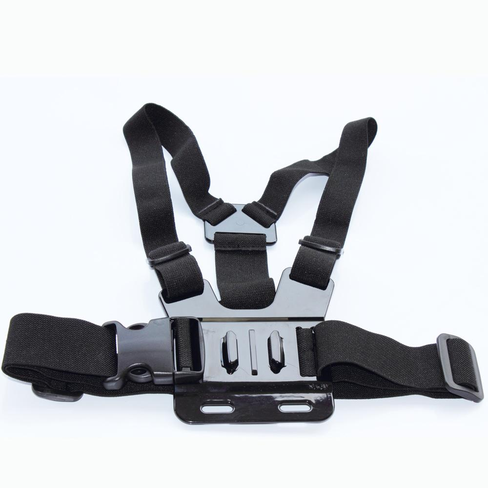 BYNCG for Gopro accessories Body Chesty Harness Strap Mount for Go pro Hero 1 2 3 3+ 4 Hero4 Xiaomi Yi Sj4000 Black Edition