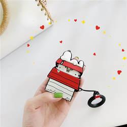 Милый цветочный чехол для наушников, коробка для Apple Airpods, чехол с мультяшным рисунком Bluetooth, чехол для наушников, силиконовый чехол для Air pods