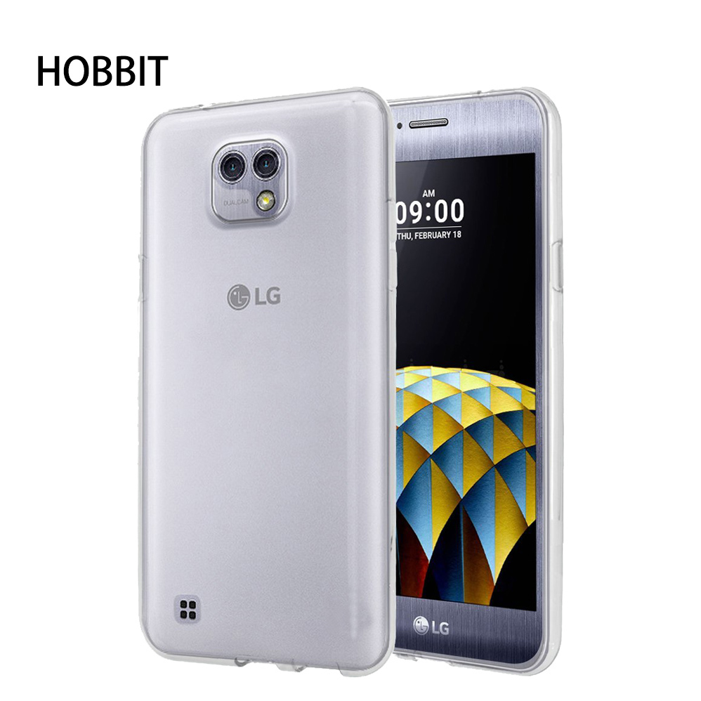 For LG x cam K580 / x style K200DS/ x max Ultra Thin Soft TPU Silicon Gel Transparent Ca ...