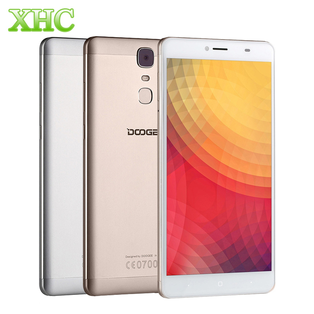 Doogee Y6 Max 3D Smartphone 6.5'' FHD Android 6.0 MTK6750 Octa core 13.0 MP Fingeprint ID 3GB+32GB 4300mAh 1920*1080 Cellphone