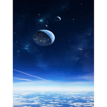 Diy Crafts Diamond Painting Embroidery stitch-Cross kits 3d Full square mosaic paintings Icons Planet in the night sky
