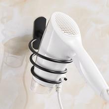 Wall Mounted Hair Dryer Rack Fashion Hair Dryer Holder Bathroom Supplies Hair Dryer Storage Shelf стоимость