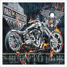 5D DIY Diamond Painting Landscape Motorcycle Cross Stitch 3D Embroidery Rhinestone Christmas Gift T013