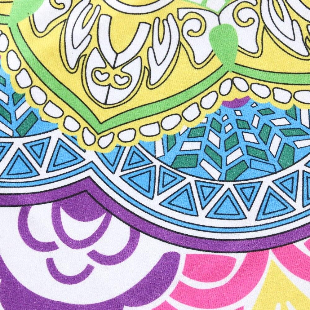 Indian Toalla Mandala Yoga Mat 3