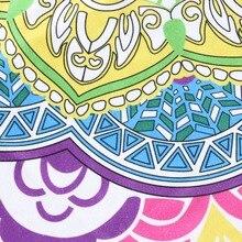 Tassel Tapestry Lotus Yoga Mat