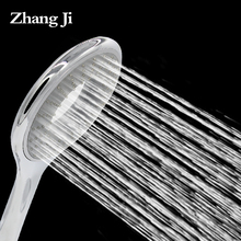 ZhangJi последнее Кольцо форма большой рукояткой душ головы Пончики дизайн 155 мм круглая ванна душ смесители для Ванной Комнаты 6 »душ ZJ060