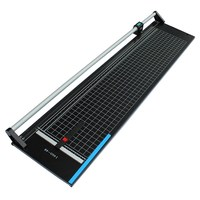 48 inches Manual Precision Rotary Paper Trimmer Sharp Photo Paper Cutter, knife cutting width 1250mm Replaceable Blade