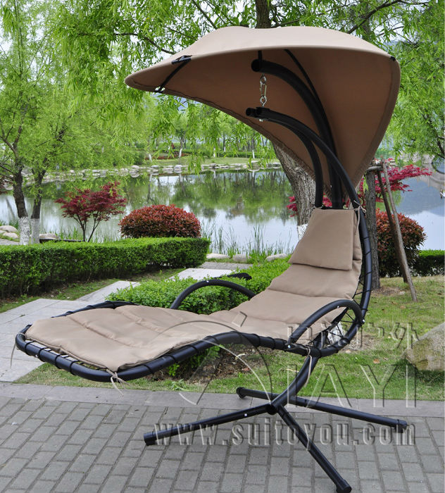 Hanging Chaise Lounger Chair Arc Stand Air Porch Swing Hammock Canopy In Patio Swings From Furniture On Aliexpress Alibaba Group