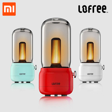 цена на Xiaomi Youpin Lofree CANDLY Retro Light adjustable bright USB Charging Wired Two Light Modes Warm As Ever Warm Surrounding Feel